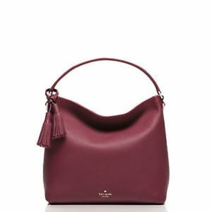 Kate Spade merlot Orchard Street Small Natalya